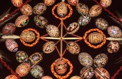 Modelo 03 de la colección de los huevos de Pascua Fotos de archivo libres de regalías