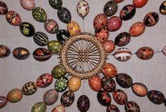 Modelo 04 de la colección de los huevos de Pascua Fotos de archivo