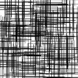 Modelo de la cruz de Criss Textura con la intersección de líneas rectas Trama de Digitaces Ilustración del vector ilustración del vector