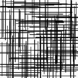 Modelo de la cruz de Criss Textura con la intersección de líneas rectas Trama de Digitaces Ilustración del vector libre illustration