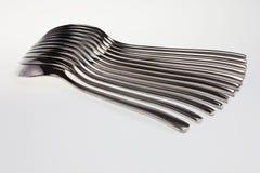 Modelo de la cuchara. imagen de archivo