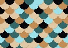 Modelo de la escala de pescados, vector común abstracto, textura del color, color brillante, Fotografía de archivo libre de regalías