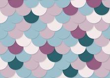 Modelo de la escala de pescados, vector común abstracto, textura del color, color brillante, Fotografía de archivo