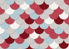 Modelo de la escala de pescados, vector común abstracto, textura del color, color brillante, Foto de archivo libre de regalías