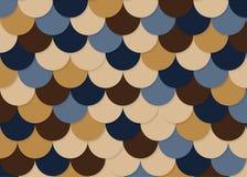 Modelo de la escala de pescados, vector común abstracto, textura del color, color brillante, Imagen de archivo libre de regalías