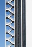 Modelo de la escalera Fotos de archivo