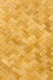 Modelo de la estera de bambú Foto de archivo