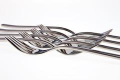 Modelo de la fork. imágenes de archivo libres de regalías