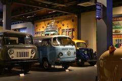 Modelo de la furgoneta 1968 del vintage de Volkswagen imagenes de archivo