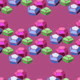 Modelo de la gema fotografía de archivo libre de regalías