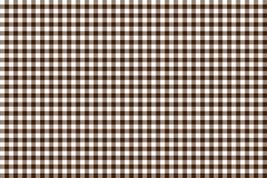 Modelo de la guinga de Brown Textura del Rhombus/de los cuadrados para - la tela escocesa, manteles, ropa, camisas, vestidos, pap stock de ilustración