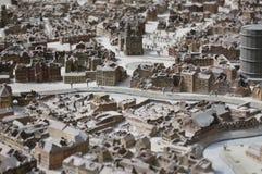 Modelo de la Hannover destruida Imagen de archivo