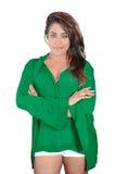 Modelo de la hembra de Desi Imagen de archivo libre de regalías