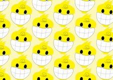 Modelo de la historieta de la sonrisa del pato Imagen de archivo libre de regalías