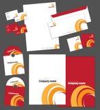 Modelo de la identidad corporativa Fotos de archivo libres de regalías