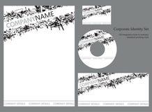 Modelo de la identidad corporativa - conjunto 2 Imagenes de archivo