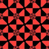 Modelo 1 de la ilusión óptica Foto de archivo