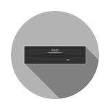 Modelo de la impulsión del DVD Fotografía de archivo