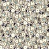 Modelo de la letra Foto de archivo libre de regalías
