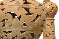 Modelo de la loza de barro Imagen de archivo libre de regalías
