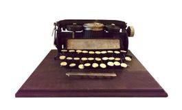 Modelo de la máquina de escribir del vintage Fotos de archivo libres de regalías