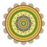 Modelo de la mandala del círculo Imagen de archivo libre de regalías
