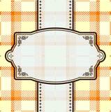 Modelo de la materia textil Libre Illustration
