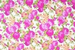 Modelo de la materia textil de la tela con el ornamento floral para el fondo Imagenes de archivo