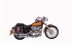 Modelo de la moto Imágenes de archivo libres de regalías