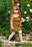 Modelo de la muchacha Fotos de archivo