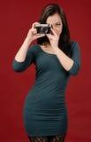 Modelo de la muchacha Foto de archivo