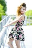 Modelo de la muchacha del adolescente Fotos de archivo libres de regalías