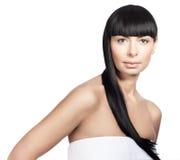 modelo de la mujer con maquillaje diario fresco Fotos de archivo libres de regalías