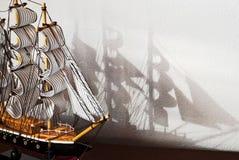Modelo de la nave Imágenes de archivo libres de regalías
