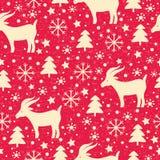 Modelo de la Navidad Imágenes de archivo libres de regalías