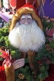 Modelo de la Navidad de Papá Noel o del padre Imágenes de archivo libres de regalías