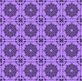 Modelo de la púrpura oscura Fotografía de archivo libre de regalías