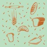Modelo de la panadería Foto de archivo libre de regalías