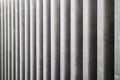 Modelo de la pared con hormigones redondos Imagen de archivo libre de regalías