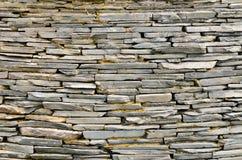 Modelo de la pared de piedra de la pizarra decorativa Imagen de archivo libre de regalías