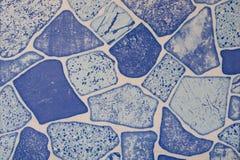 Modelo de la pared de piedra de la pizarra decorativa Imagenes de archivo