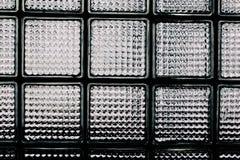 Modelo de la pared del bloque de cristal Imagen de archivo libre de regalías