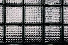 Modelo de la pared del bloque de cristal Imágenes de archivo libres de regalías
