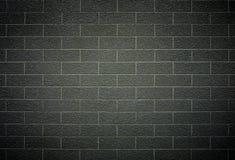 Modelo de la pared de ladrillo con color gris oscuro Fotografía de archivo libre de regalías