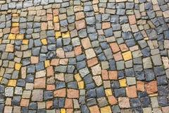 Modelo de la piedra del adoquín en Imagenes de archivo