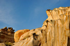 Modelo de la piedra del granito de la erosión Imagen de archivo libre de regalías