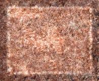 Modelo de la piedra rosada Fotografía de archivo libre de regalías