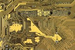 Modelo de la placa de circuito fotografía de archivo