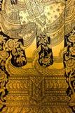 Modelo de la puerta del templo. Foto de archivo