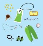 Modelo de la ropa de los deportes Foto de archivo